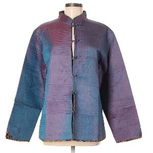 Jackets & Blazers - NWT Lavender Quilted Button Front Jacket